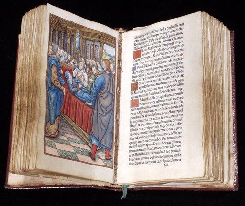 042018: INCUNABULA - ILLUMINATED BOOK OF HOURS
