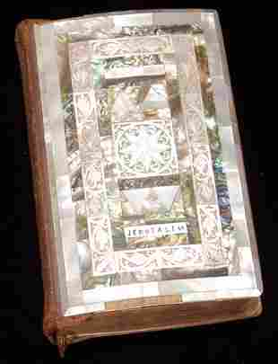 KING JAMES BIBLE, MOTHER-OF-PEARL COVER, 1948