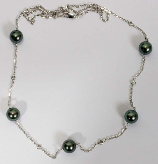 030005: 8.75MM SOUTH SEA PEARL BY THE YARD NECKLACE