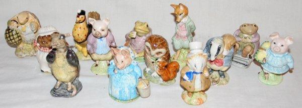 031385: BEATRIX POTTER FROGS, TURTLES, PIGS, ETC 13