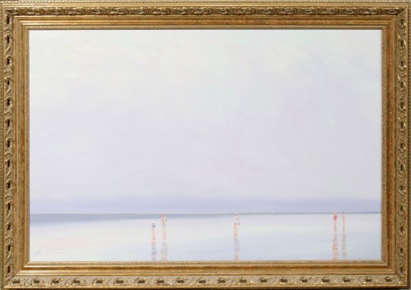 """032012: ANDRE GISSON, FR. 1921 - 03 OIL ON CANVAS 24"""""""
