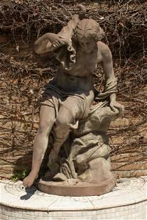 J. J. DUCEL, ET CIE. PARIS, MONUMENTAL FRENCH BRONZE