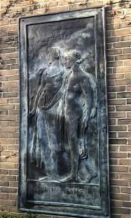 HARRY BATES A.R.A. (BRITSH, 1850-1899) MONUMENTAL