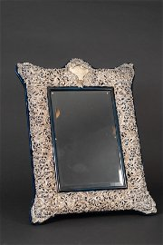 ENGLISH  ROCOCO STERLING SILVER (,925) FRAME, LONDON,