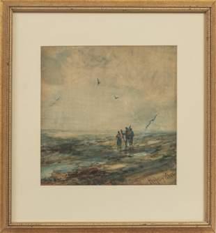 ROBERT HOPKIN (AMERICAN, 1832-1909) WATERCOLOR ON