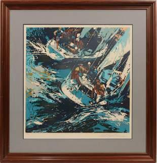 "LEROY NEIMAN (AMER. 1921-12) SERIGRAPH ON PAPER, H 24"","