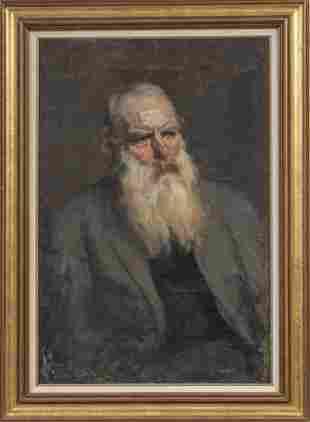 ATTR. HAROLD LAPHAM (AMERICAN, 1877-1919) OIL ON