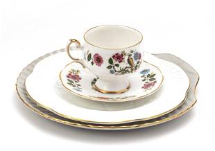 """SHELLEY PLATE 8"""", ROSINA CUP AND SAUCER"""