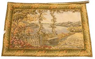 """CHINESE WOVEN TAPESTRY, H 3', W 4' 4"""""""