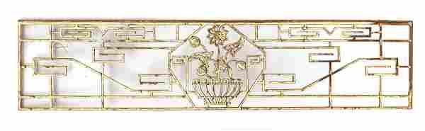 """CAST IRON GRATE C 1900 H 11.5"""" L 52"""""""