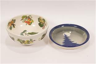 """POMINA ART POTTERY BOWL + ANOTHER TWO DIA 11"""","""