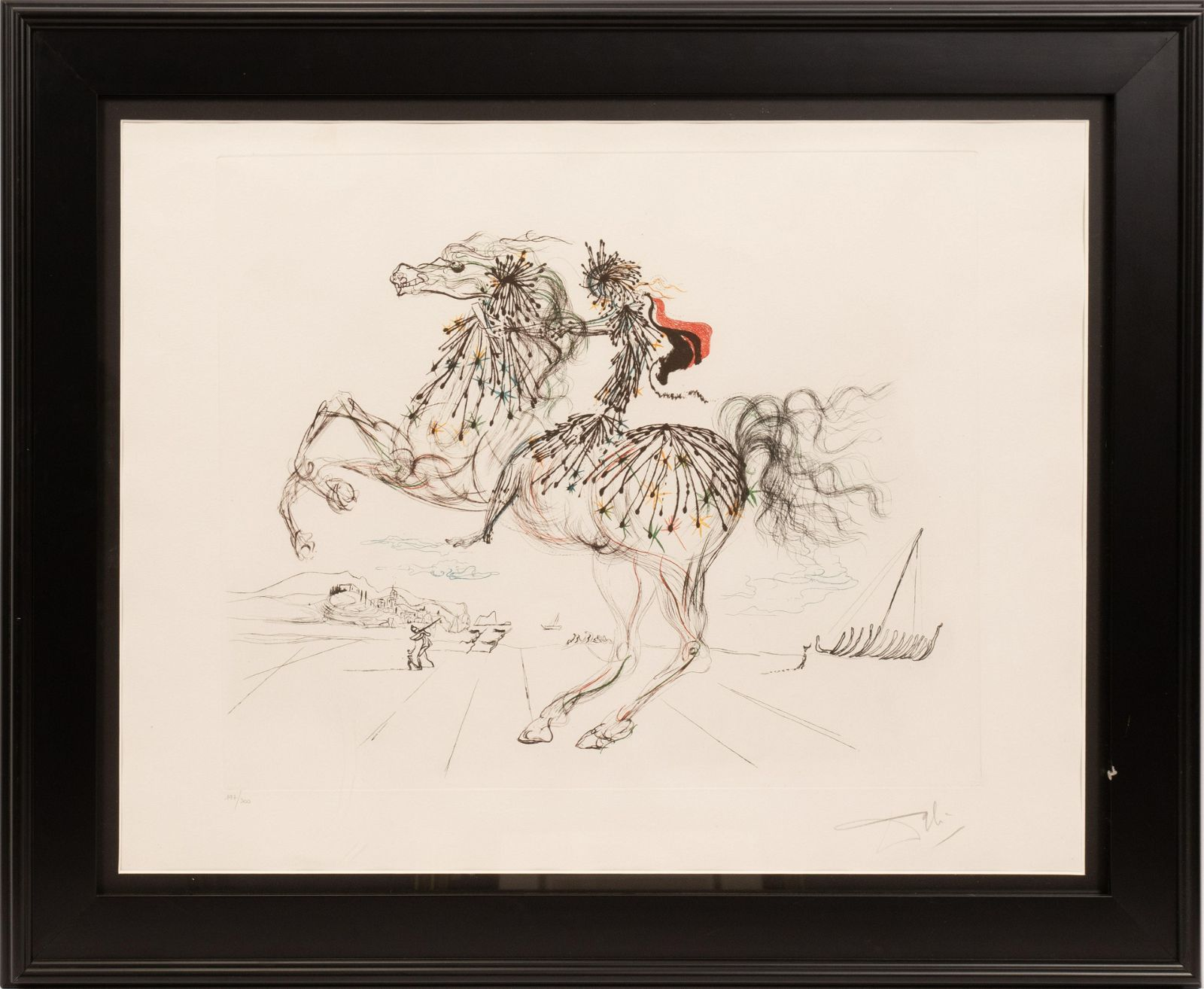 AFTER SALVADOR DALI (SPANISH, 1904–1989) PRINT IN