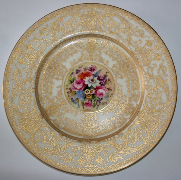 040015: ROYAL WORCESTER SERVICE, 12 PCS, PLATES,  - 2