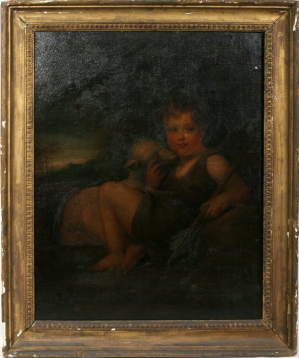 "052023: OLD MASTER OIL ON CANVAS, 17/18TH C., 36"" X 28"""