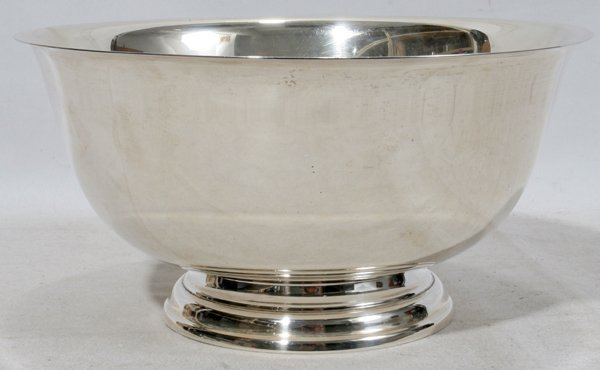 """060100: STERLING PAUL REVERE BOWL BY ROGERS, H 4 3/4"""""""