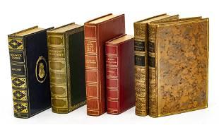 CELLINI, DICKENS, FORSTER, HAWTHORNE: 6 VOLUMES