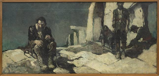 """FRANK EARLE SCHOONOVER, """"THE WITCH MEN OF BIZY"""""""