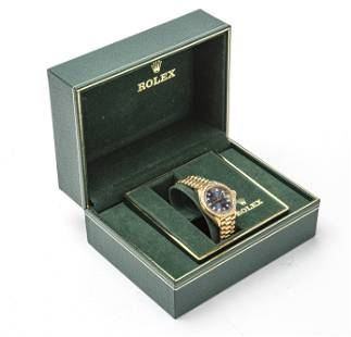 ROLEX PERPETUAL OYSTER 18KT LADIES WATCH