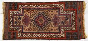 NORTHEAST PERSIAN BALOUCH WOOL DOUBLE PRAYER RUG