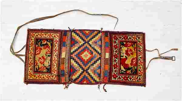 SOUTH-CENTRAL IRAN AFSHAR WOOL SADDLE BAGS