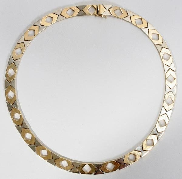 070006: ITALIAN 14 KT YELLOW GOLD NECKLACE, 27 GRAMS