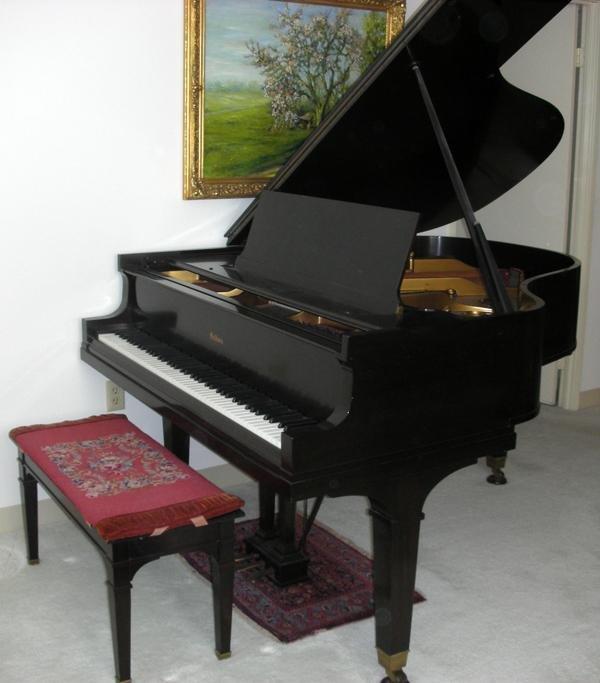 "071019: BALDWIN PIANO, #M71958, MAHOGANY CASE, L 67"""