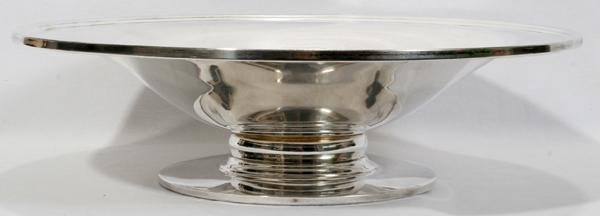 072009: DURHAM STERLING CENTERPIECE BOWL C. 1950-1960'S