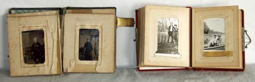 050407: VICTORIAN STYLE PHOTO ALBUMS