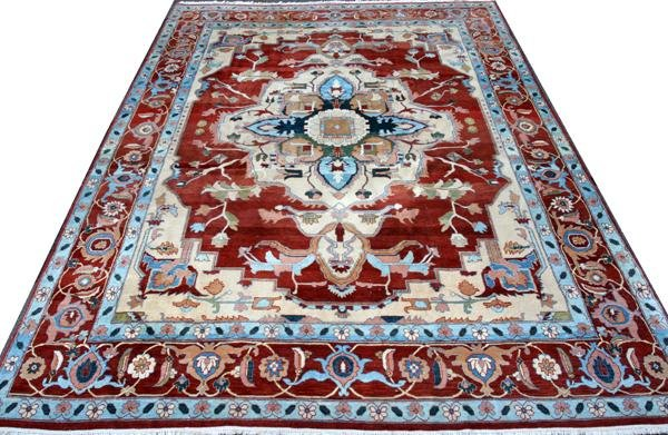 "081006: GOEM TURKISH ORIENTAL CARPET, 15' 5"" X 11' 9"""