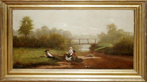 052023: WILLIAM H. WILCOX, OIL ON CANVAS, LANDSCAPE