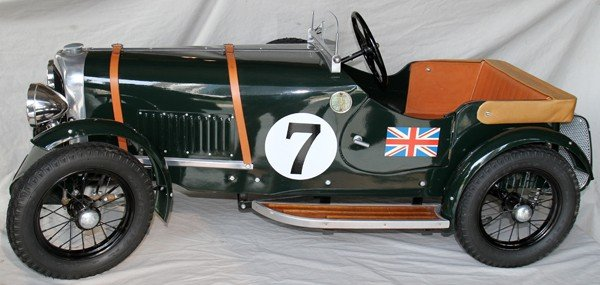 "090015: BENTLEY, SPEED - 6  PEDAL CAR, W 24"", H 23"","