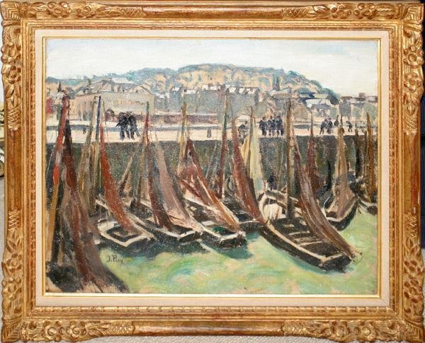 """092021: JEAN PUY, (FRENCH 1876-1960) OIL ON CANVAS 23"""""""