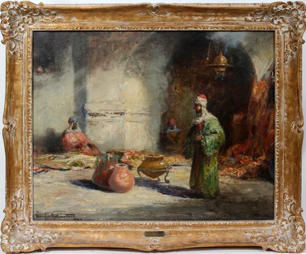 "102001: DOUGLAS ARTHUR TEED, OIL ON CANVAS, 1920, 26"""