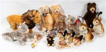 120105: STEIFF STUFFED ANIMALS, SEVENTEEN
