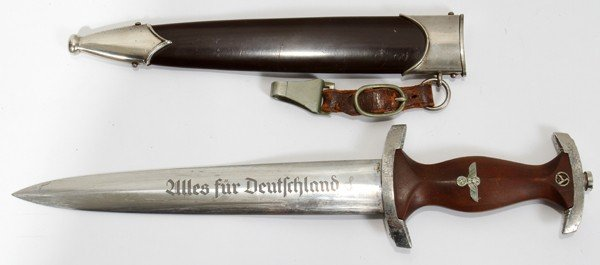 120428: GERMAN OFFICER SA DAGGER, MODEL 1933, C1940