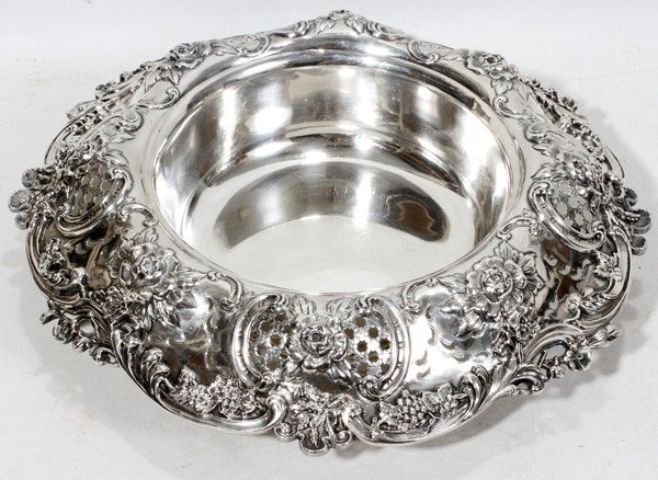 121008: TIFFANY & CO. STERLING CENTERPIECE, C. 1905,