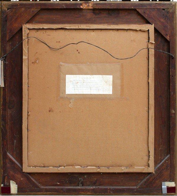 122003: KONSTANTIN MAKOVSKY, OIL ON CANVAS BOARD, 1883 - 4