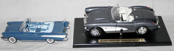 061393: ROAD TOUGH & FRANKLIN MINT MODEL CARS