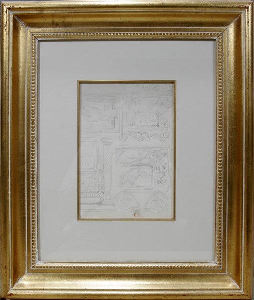 062005: EUGENE DELACROIX, PENCIL SKETCHES