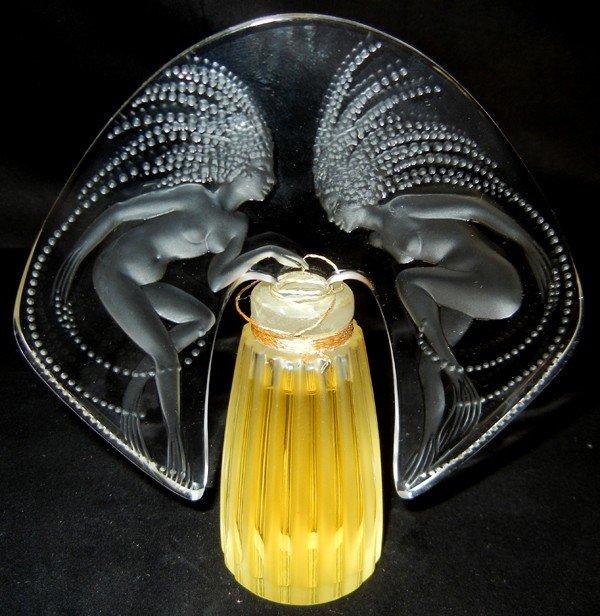 022390: LALIQUE PERFUME FLACON COLLECTION, 1998,