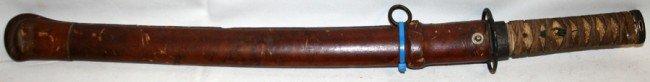 030215: JAPANESE OFFICER'S SHORT SWORD, WWII, C1940, - 2