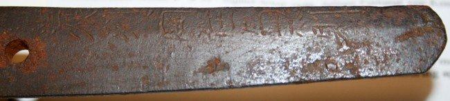 030215: JAPANESE OFFICER'S SHORT SWORD, WWII, C1940, - 4