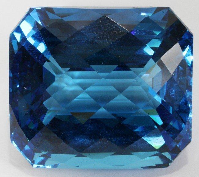 032024: 201.50 CT. FLAWLESS BLUE TOPAZ