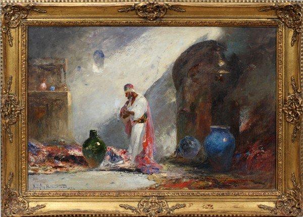 "042010: DOUGLAS ARTHUR TEED, OIL ON CANVAS, 1926, 24"""