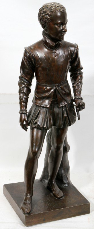 042019: AFTER FRANCOIS J. BOSIO EARLY POSTHUMOUS BRONZE