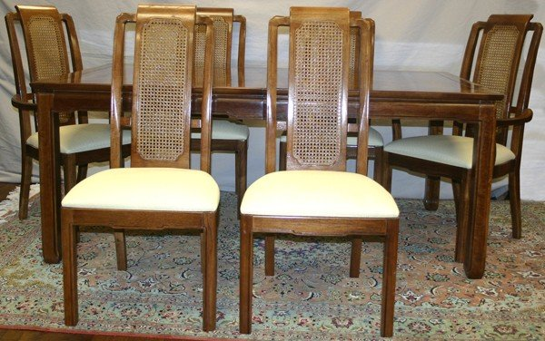 050153: THOMASVILLE \'MYSTIQUE\' DINING ROOM SET, 7 PCS. : Lot 050153