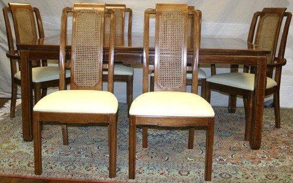 050153: THOMASVILLE 'MYSTIQUE' DINING ROOM SET, 7 PCS.