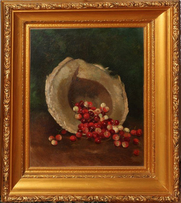 052003: ATTRIBUTED TO WILLIAM E. WINNER, OIL ON CANVAS,