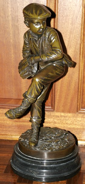 JIM DAVIDSON BRONZE SCUPLTURE BASEBALL