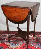 061208: MAHOGANY DROP-LEAF TABLE BY IMPERIAL, C. 1930,